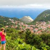 Ausblick vom Mount Scenery, Saba